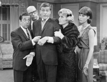 Cast of the Dick Van Dyke Show. --- Image by © Bettmann/CORBIS